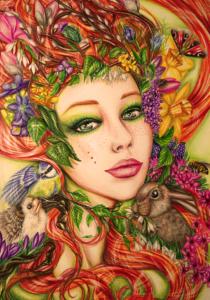 Göttin Des Frühlings